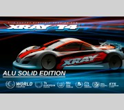XRAY 300030 T4'21 - ALU SOLID EDITION - 1/10 LUXURY ELECTRIC TC