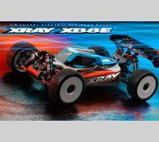 XRAY 350158 XB8E'21 - 1/8 LUXURY ELECTRIC OFF-ROAD CAR