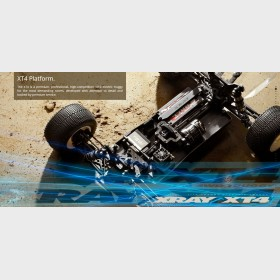 XRAY 360201 XT4.2 - 4WD 1/10 ELECTRIC OFF-ROAD TRUGGY